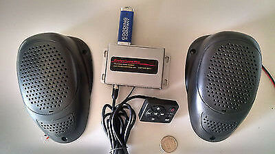 Add a Hidden/Secret MP3 Stereo System w/Speakers to Classic Vintage Car SD USB