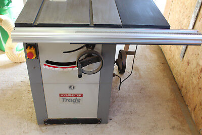 Axminster Trade Series AW10BSB2 Saw Bench 230V Tablesaw / table saw