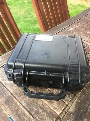 Duratool D00467 Waterproof Transit Flight Equipment Case 175x465x360mm