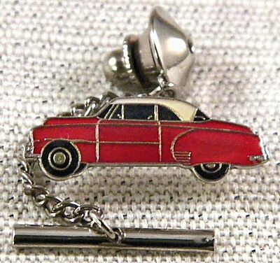 1951 Chevrolet Tie Tack Pin and Chain Clasp