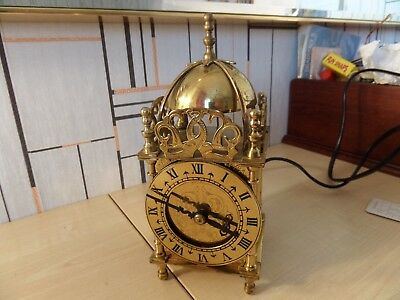 """Lovely Vintage Mains Electric """"nell Gwynne"""" Smiths Mantel Clock In Original Box"""