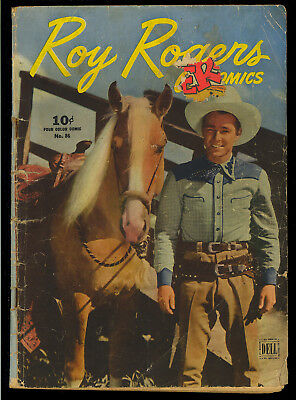 Four Color #86 (Roy Rogers Comics) Golden Age Dell Western 1945 FR-GD
