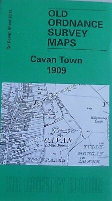 Old Ordnance Survey Detailed Maps Cavan Town 1909 Co Cavan  Ireland Sheet 20.15