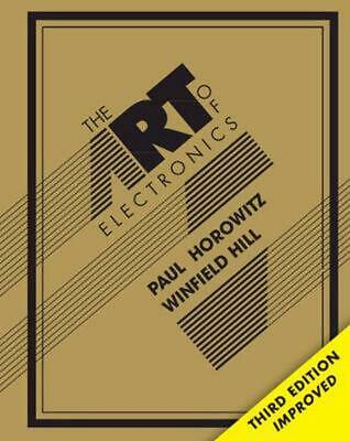 The Art of Electronics 3rd Edition by Paul Horowitz (English) Hardcover Book Fre