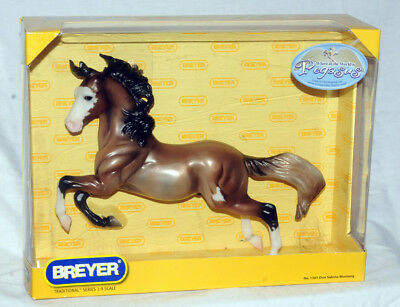 Breyer Horse 1:9 Dun Sabino Mustang No.1301, 2007 Treasure Hunt Pegasus NIB