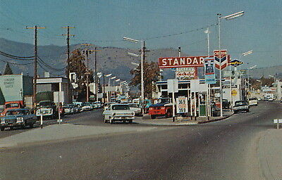 ROADSIDE GAS AND OIL COLLECTIBLE Standard Oil & CHEVRON Gas Stations in Yreka CA