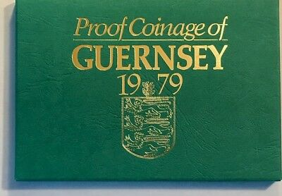 GUERNSEY - Queen Elizabeth II - (6) Coin Proof Set  - 1979 - Royal Mint Issue