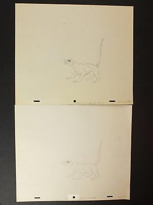 LOT of 48 1990s MISC. ANIMATION PRODUCTION ART as seen in 24 PHOTOS~