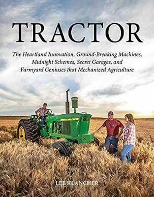 Tractor by Lee Klancher Hardcover Book Free Shipping!