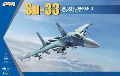 Kinetic Su-33 Flanker D, 1:48