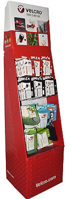 Genuine Velcro Retail Shop Display Unit With 11 New Products - £257.85 Return