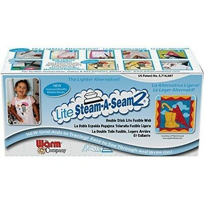 Warm Company Lite Steam-a-seam 2 Double Stick Fusible Web, 12 In x 40 Yd -