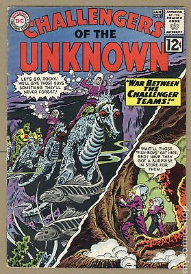 Challengers of the Unknown (DC 1st Series) #29 1963 VG 4.0
