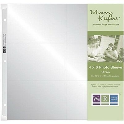 We R Memory Keepers 12 X 12 Inch (6- 4 X 6-inch Pockets) 3-ring Album Photo -