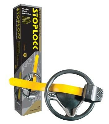Stoplock Pro Steering Wheel Lock Professional Clamp Ideal for AUDI A1