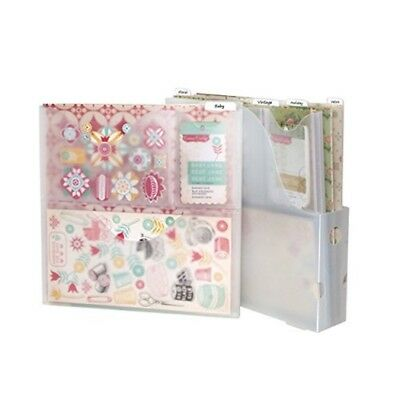 Storage Studios Vertical Variety Pack Of Paper Holders For Up To 12 x 12 Inch -