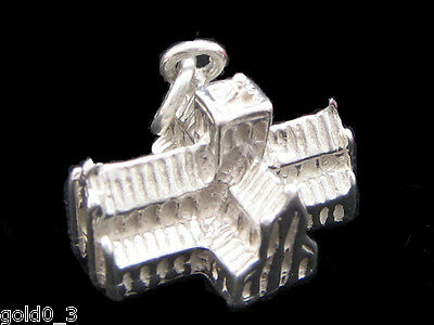 Starfish charm Sterling Silver 925 charmmakers 3D