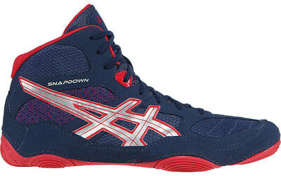 Asics Snapdown Mens Wrestling Shoes - Navy