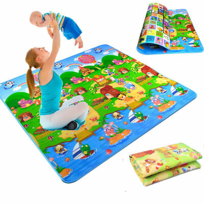 2M*1.8M Baby Crawl Play Mat Kids Foam Puzzle Game Floor Blanket Rug For Child