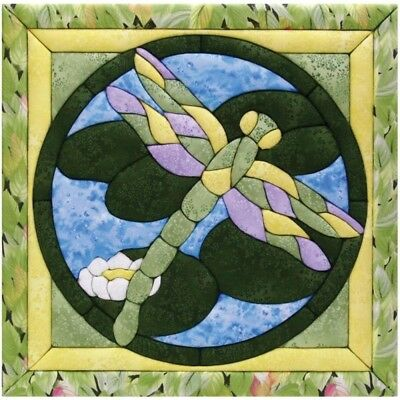 Dragonfly Quilt Magic Kit-dragonfly - 12 x 12inch Kit12x12