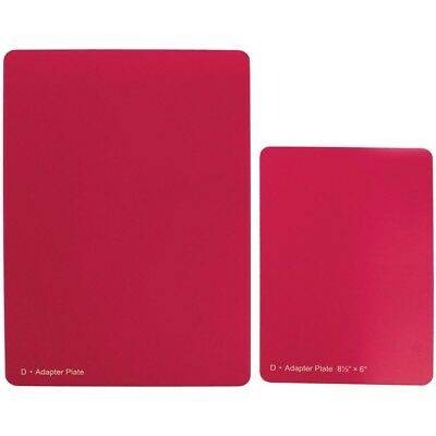 Spellbinders Grand Calibur Raspberry Spacer Plate 8. 5 X 12 Inch Gc008 - 8