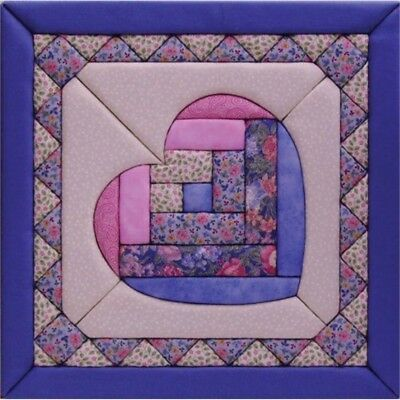Quilt Magic 12-inch By 12-inch Heart Kit - Kit12x12 12inch