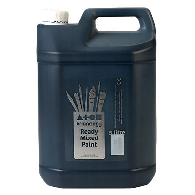 Brian Clegg Ready-mix Paint 5 Litre - Black