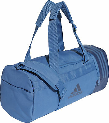 adidas Convertible 3 Stripe Holdall - Blue
