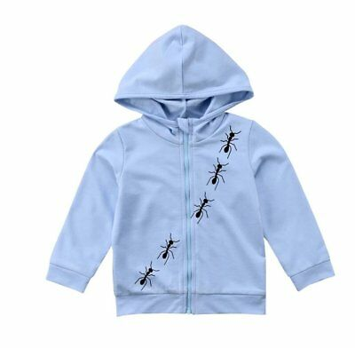 Toddler Boy Ants On The Move Hoodie