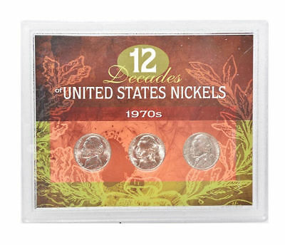 American Coin Treasure 12 Decades of United States 1970S Nickels