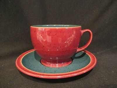Denby HARLEQUIN - Breakfast Cup and Saucer