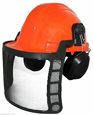 Husqvarna Chain Saw Owners, Protect Your Head With a Forester Safety Helmet