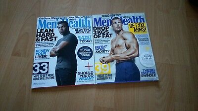 Mens Health Back Issues New And Unread March And April 2018