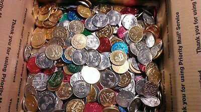 Mardi Gras Doubloons - regular colored aluminum in 24lb lots - free shipping!