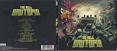 The Hell  - Brutopia (Metal) (CD, Oct-2015, Prosthetic) DIGIPAK
