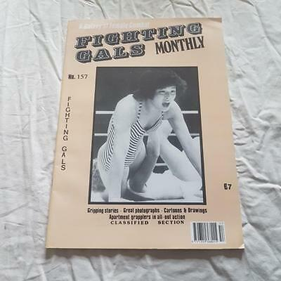 Fighting Gals Magazine From Swish Publications No 157   Vintage Female Combat