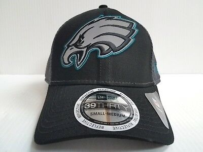 c88bd744935 Philadelphia Eagles Cap New Era 39Thirty Stretch Fit Fitted Megaflect Hat