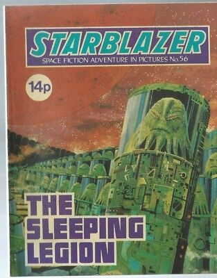 The Sleeping Legion,starblazer Space Fiction Adventure In Pictures,comic,no.56