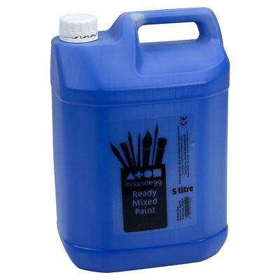 Brian Clegg Ready-mix Paint 5 Litre - Blue