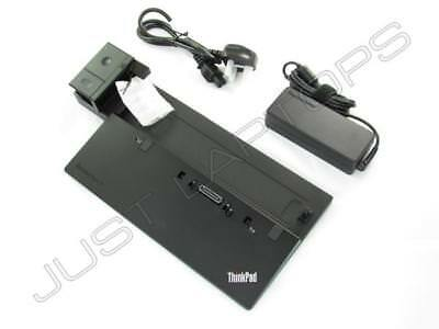 New IBM Lenovo ThinkPad 40A10090EU 00HM918 Pro Dock Docking Station + 90W PSU