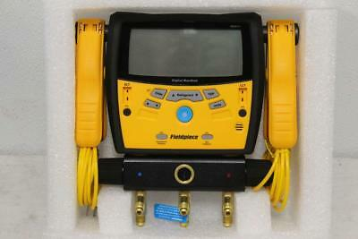 Fieldpiece Three-Port Digital Manifold With Clamps SMAN340