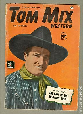 Tom Mix Western (Fawcett) #29 1950 GD- 1.8