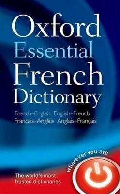 NEW Oxford Essential French Dictionary By  Oxford Dictionaries Paperback
