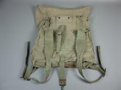 Vintage Original WW2 WWII USMC BOYT44 Marine Corps US Military Backpack Pack Bag