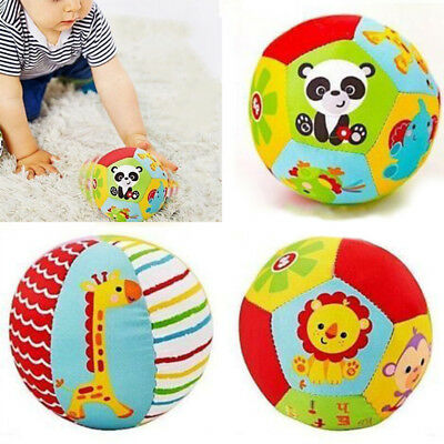 Infant Ball Toy Sports Kids Toddler Soft Cotton Colorful Outdoor Indoor Baby