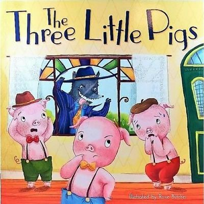 NEW The Three Little Pigs By Rosie Butcher Paperback Free Shipping