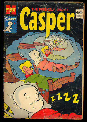 Friendly Ghost Casper #1 Tough First Issue Early Harvey Comic 1958 GD-