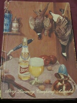 Vintage Storz Brewing Company...Omaha Cookbook! MUST SEE! 1957 Edition!