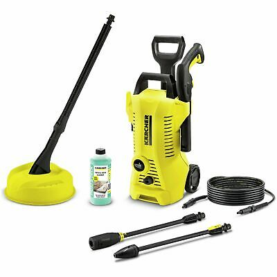 Karcher K2 Full Control 1400W 110 Bar Home Pressure Washer With T150 Patio Brush