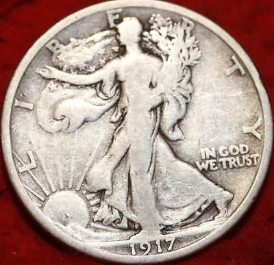1917-S San Francisco Mint Silver Walking Liberty Half